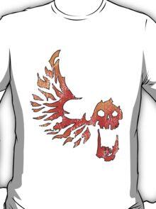 Bandit Flame Wing Skull T-Shirt