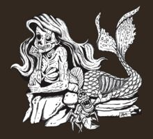 The Wee Zombie Mermaid by ZugArt