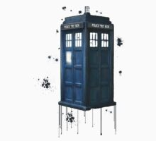 Tardis Splatter by FandomForever