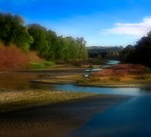 Landscape with River by RusticShiraz