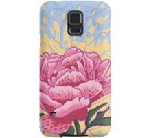 peony flowers Samsung Galaxy Case/Skin