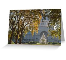 Royal Exhibition Building Carlton Gardens Melbourne Vic Greeting Card