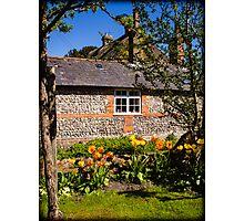 St Mary Bourne England Photographic Print