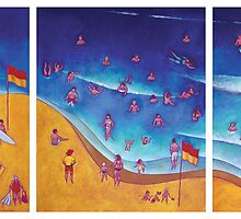 Beach Life by Mark Zabel Art