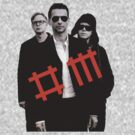 Depeche Mode: Poster of the Universe by Teji