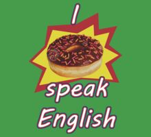 I don't speak English by pierpah