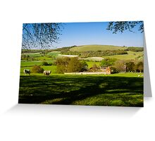 Wessex Downs Greeting Card
