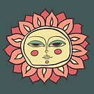 Sun face by OlgaBerlet