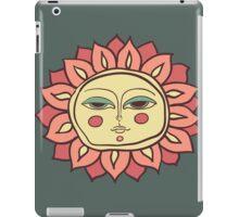 Sun face iPad Case/Skin