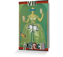 Justiceot Greeting Card