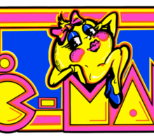 Ms Pac-Man Sticker