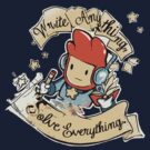 Write Anything, Solve Everything. by Creative Outpouring
