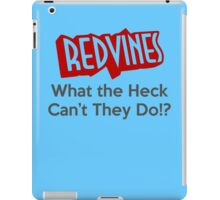 RedVines: What the Heck Can't They Do!? iPad Case/Skin
