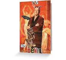 The Devilot Greeting Card