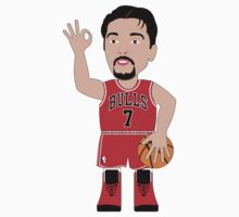 NBAToon of Tony Kukoc, player of Chicago Bulls by D4RK0