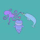 iPad Mike's Sea Friends :) by eleveneleven