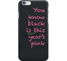 Wicked Quote iPhone Case/Skin