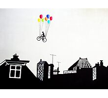 Over the city Photographic Print