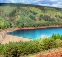 The Derwent Dam - Orton by Colin J Williams Photography