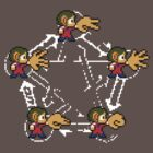 Alex Kidd's Rock-Paper-Scissors-Lizard-Spock [remake 2] by SergioDoe