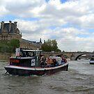 Paris Seine 1 by WILT