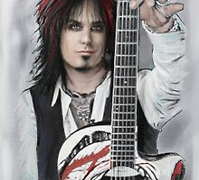 Nikki Sixx by MelannieD