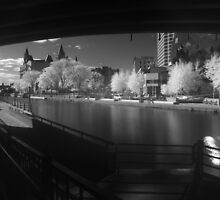 Downtown Ottawa Infra-Red Evening by Max Buchheit