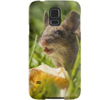 Field Mouse in the Grass Samsung Galaxy Case/Skin