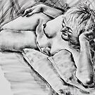 Dreaming in charcoal by Mick Kupresanin