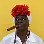Cuban Woman by Helen J Cherry
