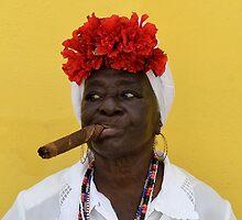 Cuban Woman by Helen J Cherry