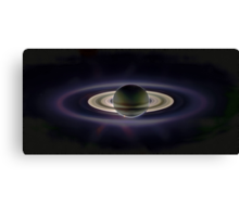Saturn Eclipse Canvas Print