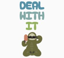 Deal With It Sloth T-Shirt