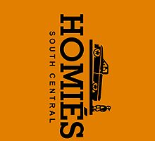 Homies South Central iPhone Case ORANGE by HoodRich