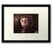 Trouble Framed Print