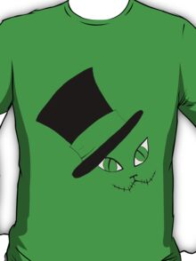 Cheshire Cat in the Hat T-Shirt
