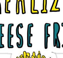 [cheese fries] Sticker