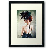 Madame Peacock II Framed Print
