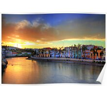 Tavira Summer Sunset Poster