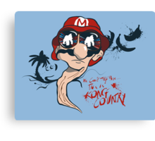 Fear and Loathing in the Mushroom Kingdom Canvas Print