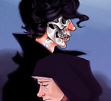 Necromancer Johnlock by Voodooling