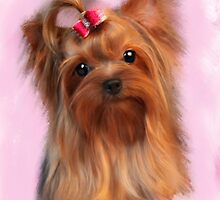 Yorkshire terrier by Moonlake