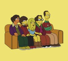 Big Bang Theory - Simpsons Style - Without Text by CalumCJL