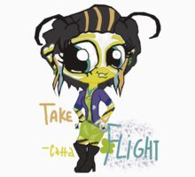 Catta Pilla TakeFlight by Insectoid-ettes