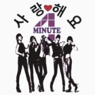 ㋡♥♫SaRangHaeYo(Love) Hot Fabulous K-Pop Girl Group-4Minute Clothing & Stickers♪♥㋡ by Fantabulous