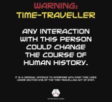 Time-Traveller T-Shirt by Cagedfreak