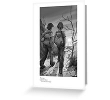 """Goodbye"" - From Darkness to Darkness Greeting Card"