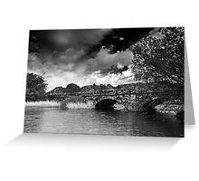 Padarn Bridge Greeting Card