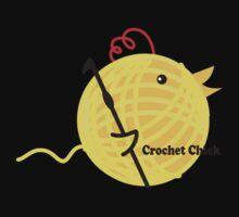 Crochet chick crochet hook ball of yarn funny t-shirt Kids Clothes