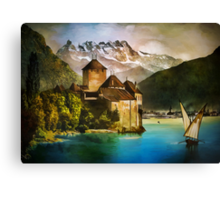 Chillon Castle Canvas Print